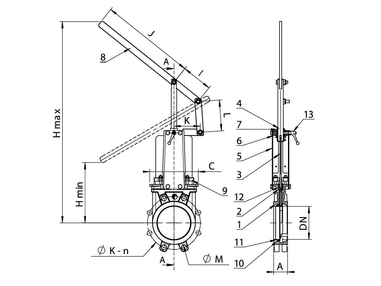 Knife Gate Valve With Lever 6400 Wiring Diagram